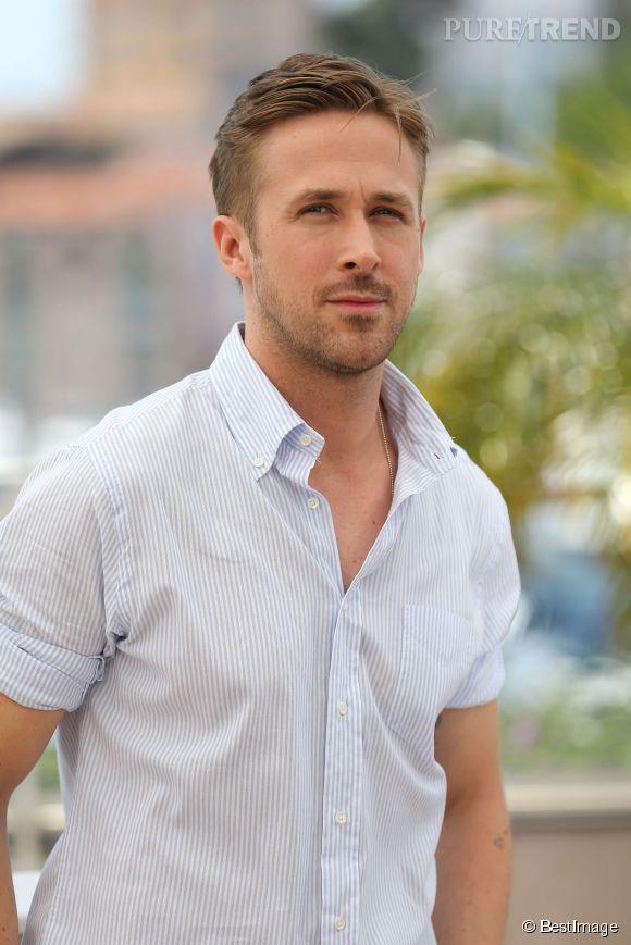 Ryan Gosling charme la Croisette avec son physique et sa virilité tranquille lors du Photocall de Lost River le 20 mai 2014.
