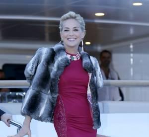Sharon Stone : 56 ans et le sex appeal au top sur la Croisette
