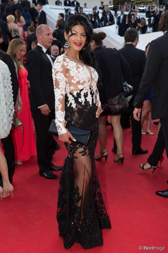 Ayem Nour s'est offert une montée des marches à Cannes pendant ce 67ème Festival.