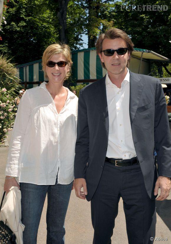 Michèle Laroque et François Baroin, un couple très discret.