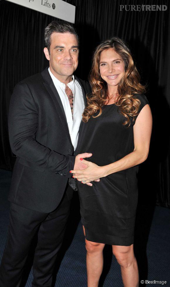 Avec la naissance de Theodora en 2012 et un deuxième bébé en route, Robbie Williams est devenu un homme comblé.