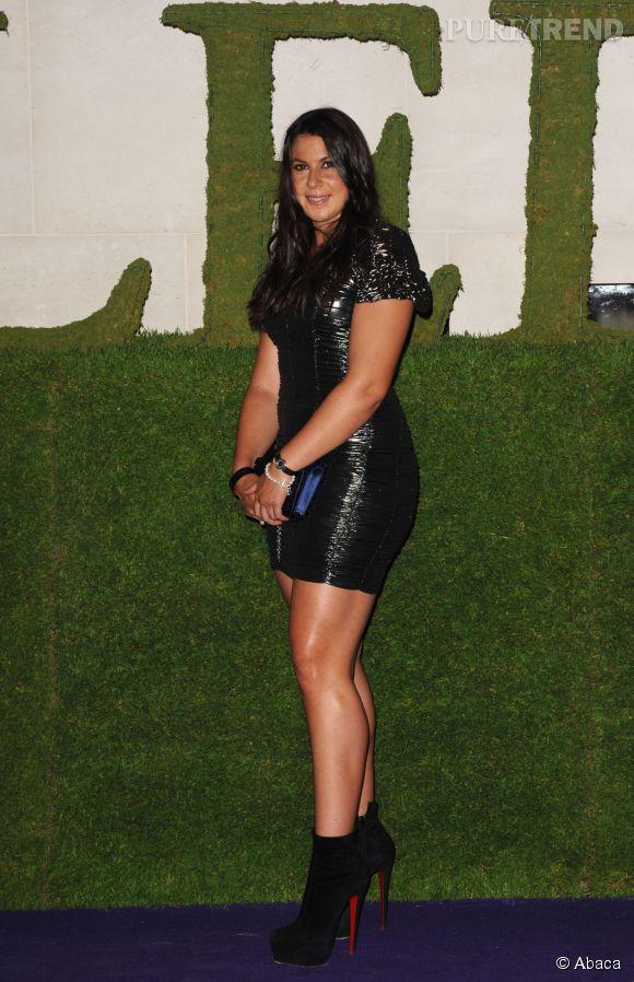Marion Bartoli, gagnante de Wimbledon en 2013, n'a pas peur de s'afficher dans des petites robes moulantes très courtes !