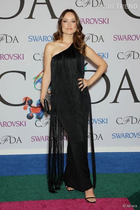 Olivia Wilde aux CFDA 2014 à New York.