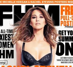 Rachel Stevens en couverture d'FHM.