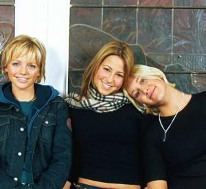 Rachel Stevens avec les autres filles du groupe S Club 7 en 2001.