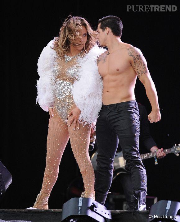 """Jennifer Lopez l'avait """"joué comme Madonna"""" en sortant avec un de ses petits danseurs tout musclés."""