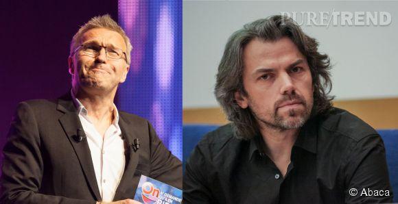 """Laurent Ruquier et Aymeric Caron n'étaient pas du tout du même avis ce samedi 7 juin 2014 sur le plateau de """"On n'est pas couché"""" sur France 2."""