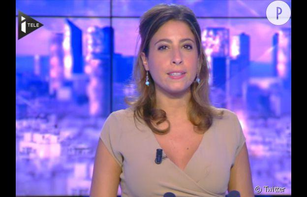 Léa Salamé, la jolie journaliste à i>télé.