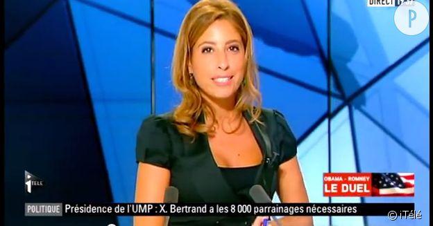 Léa Salamé, journaliste sur iTélé.