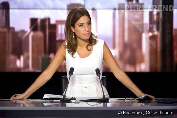 Léa Salamé changera de chaine à la rentrée, elle arrive sur France 2 dans On n'est pas couché.