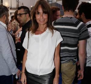 Axelle Laffont : une mini jupe en cuir pour la réouverture du BHV