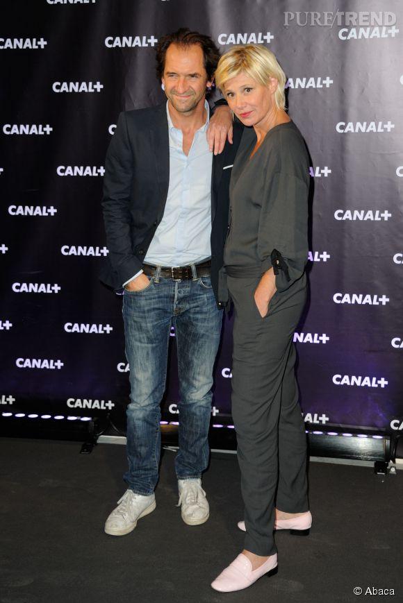 Stephane De Groodt et Maïtena Biraben le 28 août 2013.