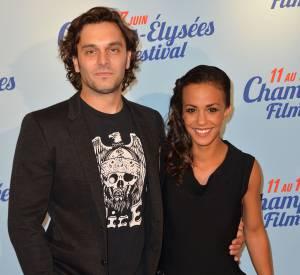 Alice Belaïdi et Pio Marmaï, duo glamour au Champs-Elysées Film Festival.