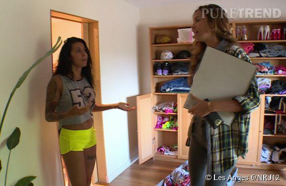 explications entre shanna et vanessa dans l 39 pisode de ce lundi 16 juin 2014 dans les anges 6. Black Bedroom Furniture Sets. Home Design Ideas