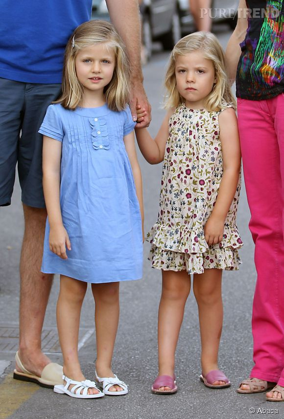 Les soeurs d'Espagne en août 2011.