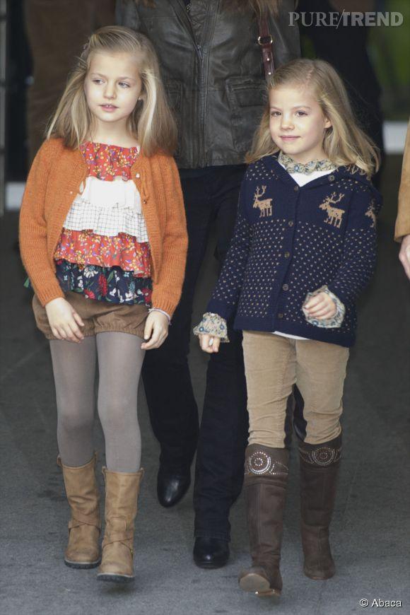 Les soeurs d'Espagne en novembre 2012.
