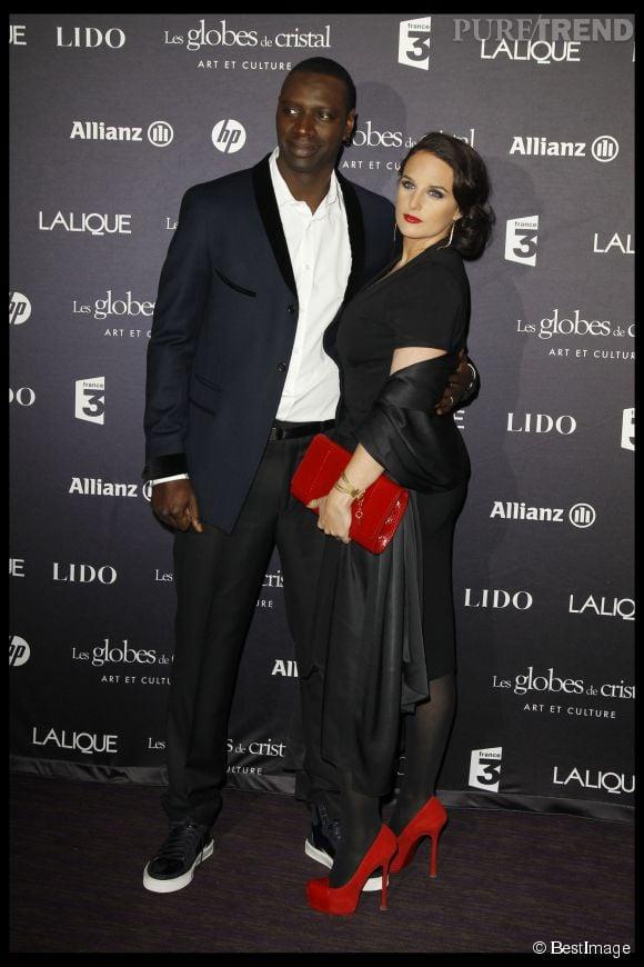 Omar Sy et sa femme Hélène, un couple qui dure.