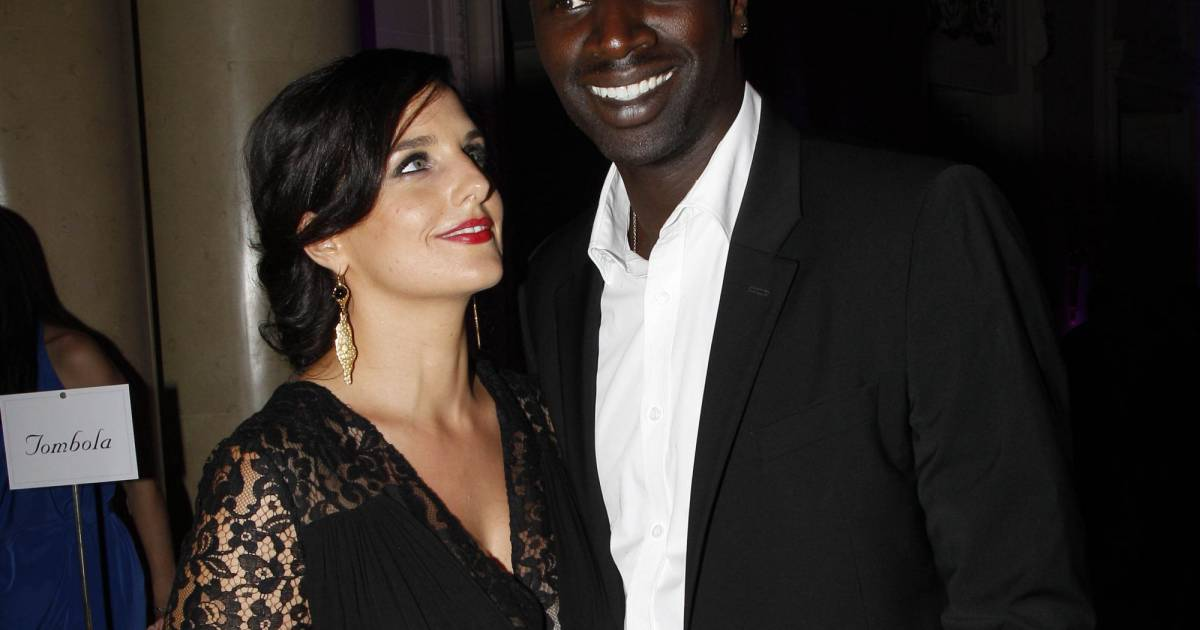 omar sy et sa femme h l ne la complicit sous les projecteurs puretrend. Black Bedroom Furniture Sets. Home Design Ideas