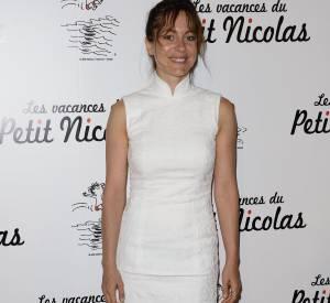 """Audrey Dana aussi était à la première du film """"Les Vacances du Petit Nicolas""""."""