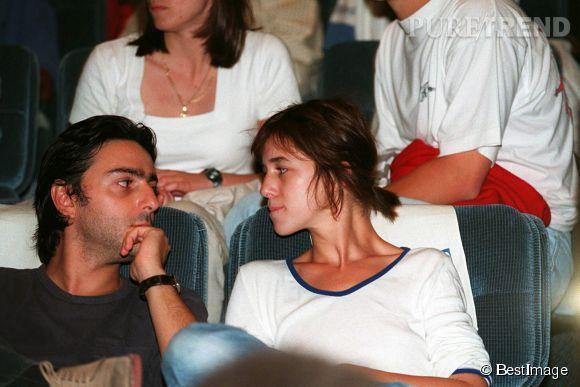 Charlotte Gainsbourg et Yvan Attal au 21ème Festival du cinéma américain de Deauville en septembre 1995.