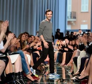 Nicolas Ghesquière a présenté le 17 mai 2014 la collection Croisière 2015 Louis Vuitton. Certaines des pièces de cette collection sont portées par Charlotte Gainsbourg dans la nouvelle campagne.