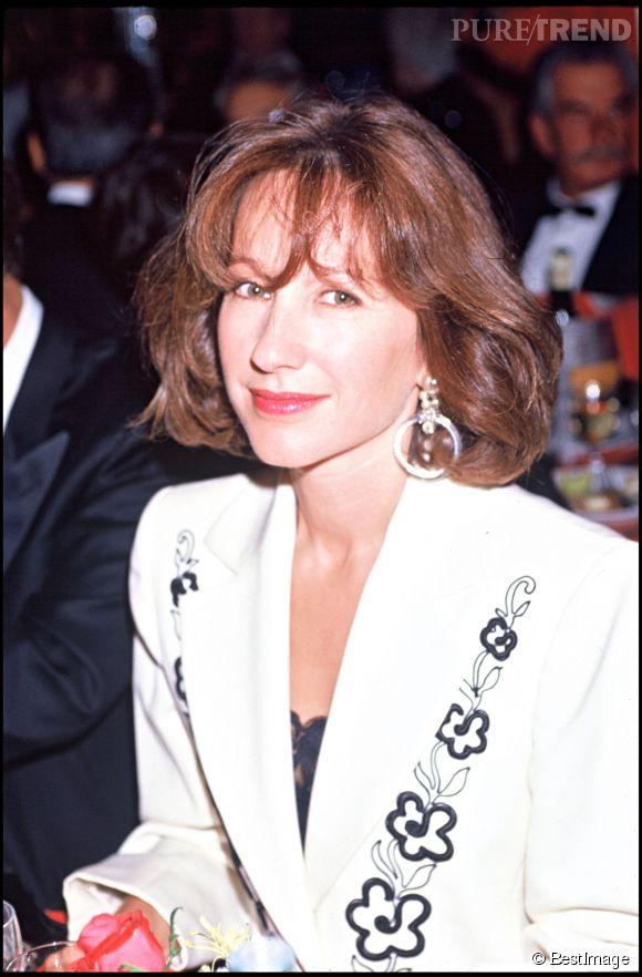 Nathalie Baye, une comédienne des plus élégantes, ici en 1990.