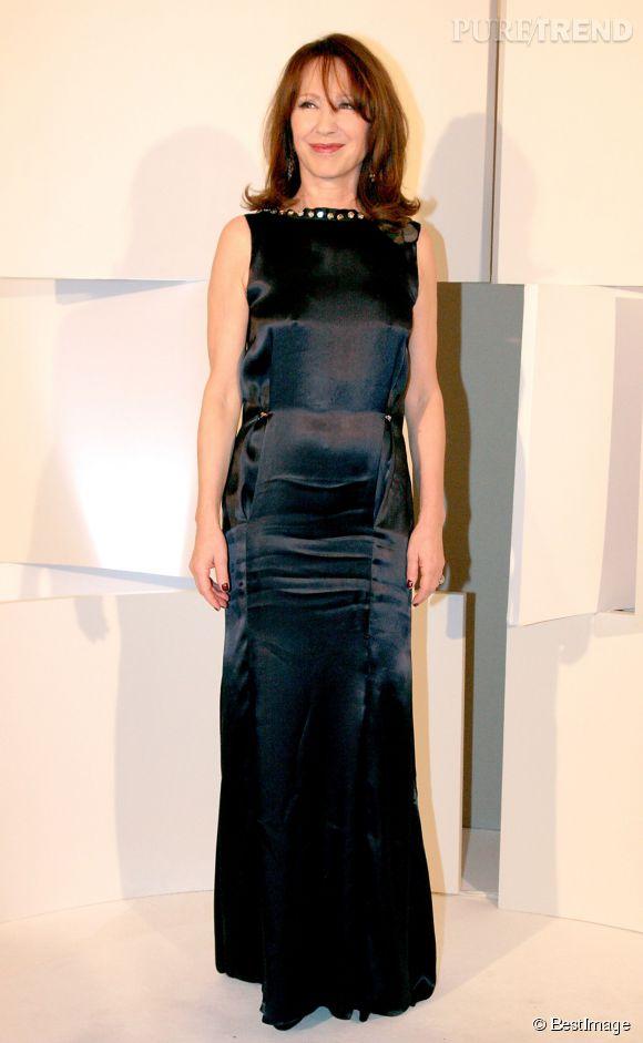 Nathalie Baye et sa silhouette de jeune fille aux César en 2008.
