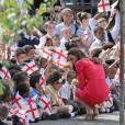 Kate Middleton, la Duchesse préférée des petits anglais.