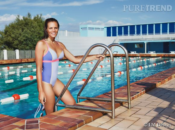 Laure Manaudou a créé sa ligne de maillots de bain LM Design.
