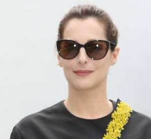 Amira Casar au défilé Christian Dior Haute-Couture 2014/2015.