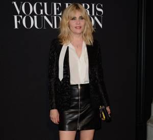 Emmanuelle Seigner à la soirée de la Vogue Foundation à Paris.