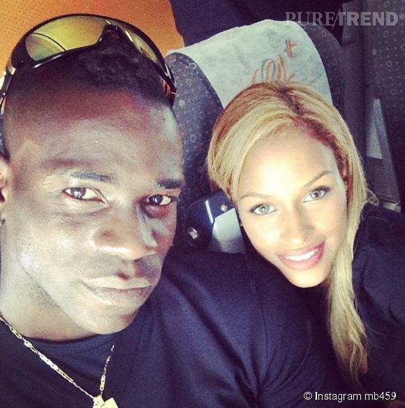 """Fanny Neguesha, la fiancée du joueur de foot italien, Mario Balotelli, pourrait être au casting de la saison 8 de """"Secret Story""""."""