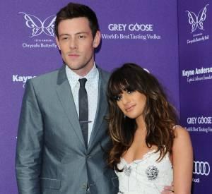 Lea Michele et Cory Monteith quelques mois avant le drame.