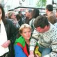 Mimie Mathy au festival du film policier de Cognac en 1995.