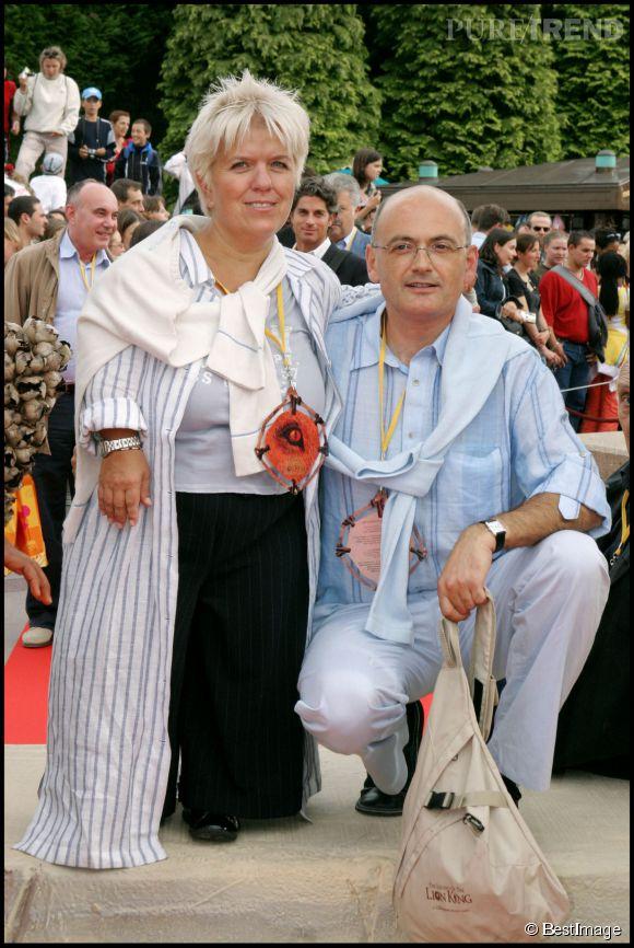 Mimie mathy et benoist en 2004 il est devenu son mari en 2005 puretrend - Charlotte de turckheim et son mari ...
