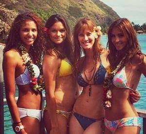 Alexandra Rosenfeld et Flora Coquerel : le selfie olé olé de Miss en bikini