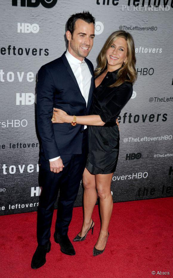Jennifer Aniston et Justin Theroux, complices et tendances sur le tapis rouge.
