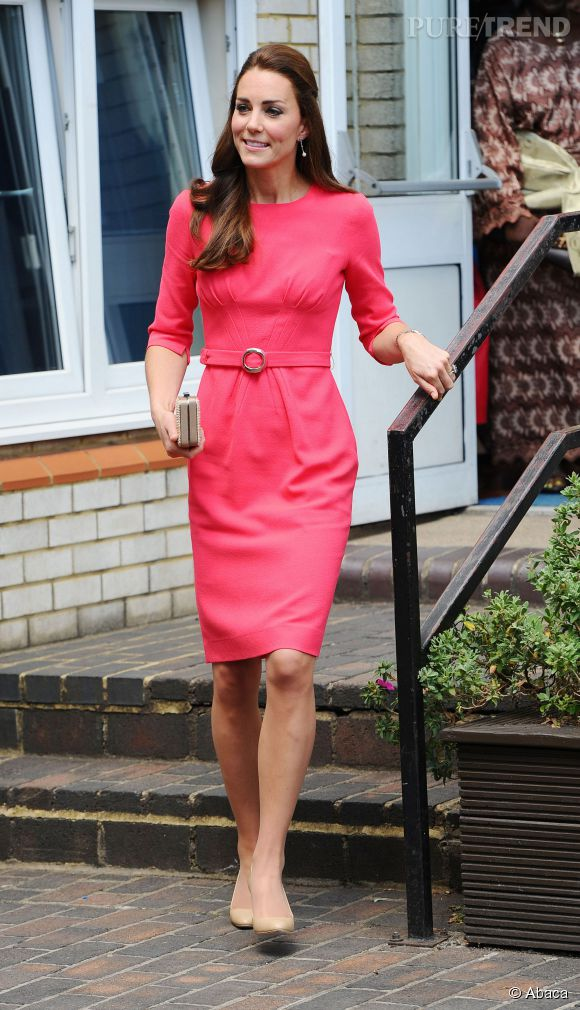 329bded0818 Kate Middleton ose les couleurs flashy ! - Puretrend