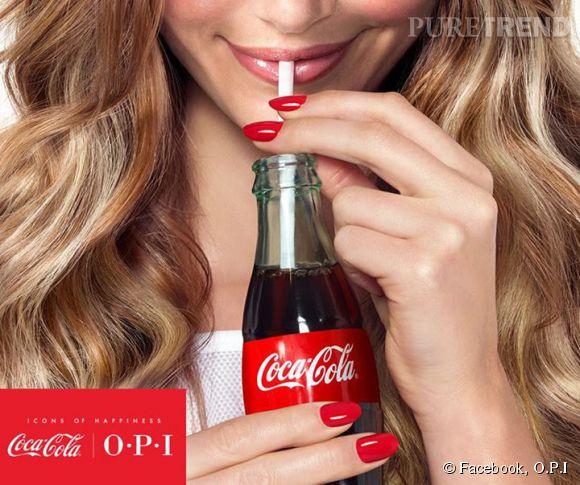 La collection Coca Cola by O.P.I.