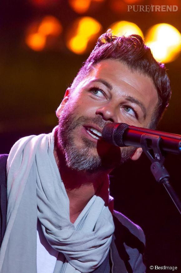 Christophe Maé, le chanteur confie ses débuts difficiles au Parisien.