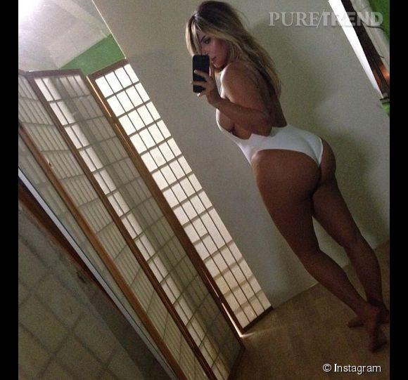 Kim Kardashian et son popotin XXL.