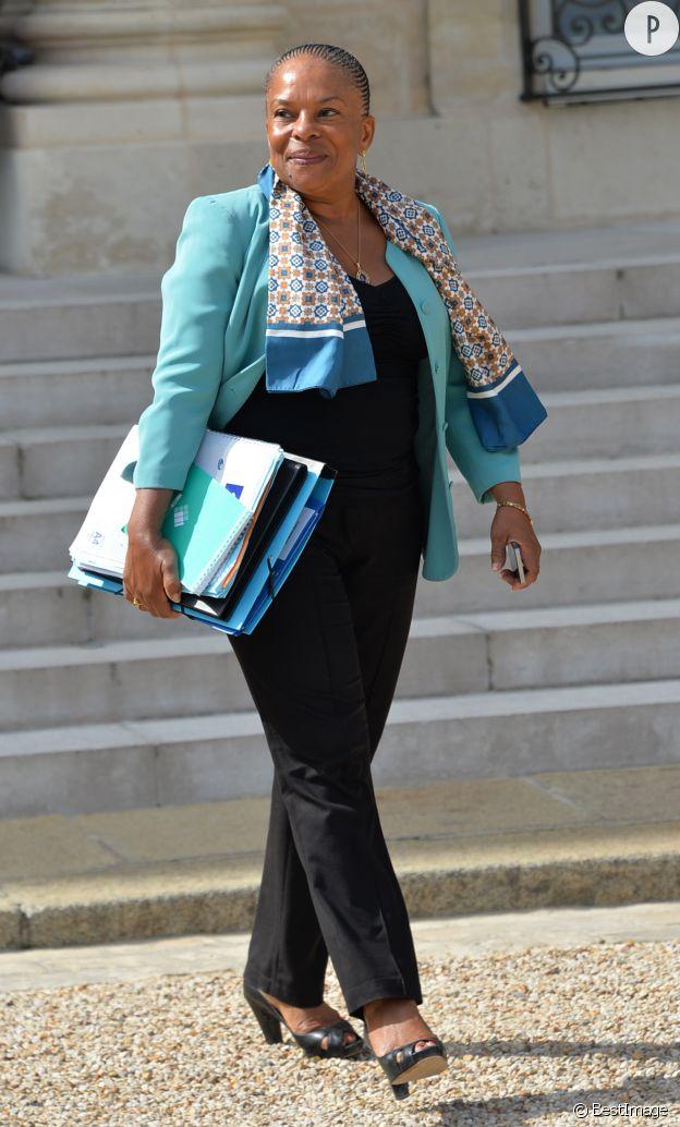 Christianne Taubira, Garde des Sceaux et ministre de la justice.