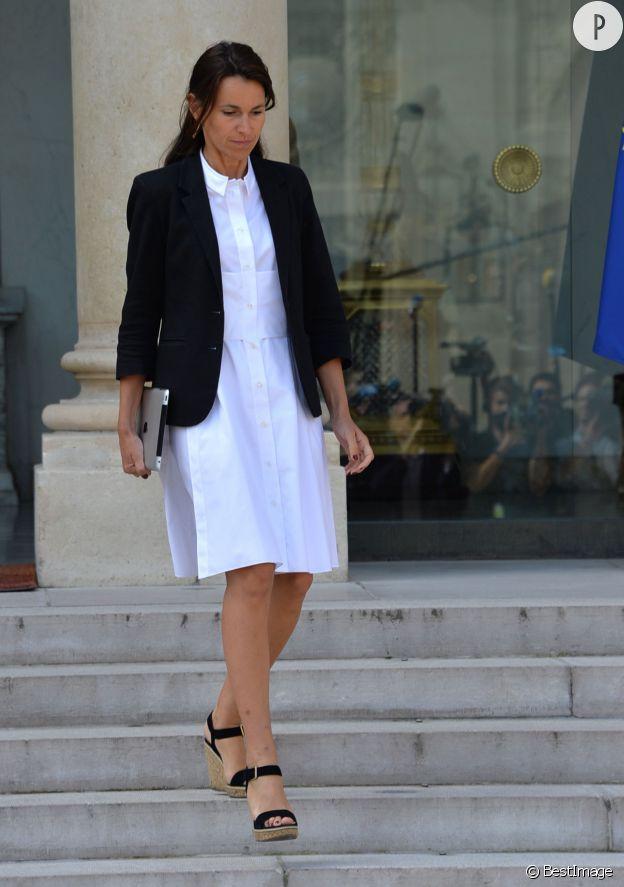 Aurélie Filippetti, la très jolie ministre de la Culture et de la Communication.