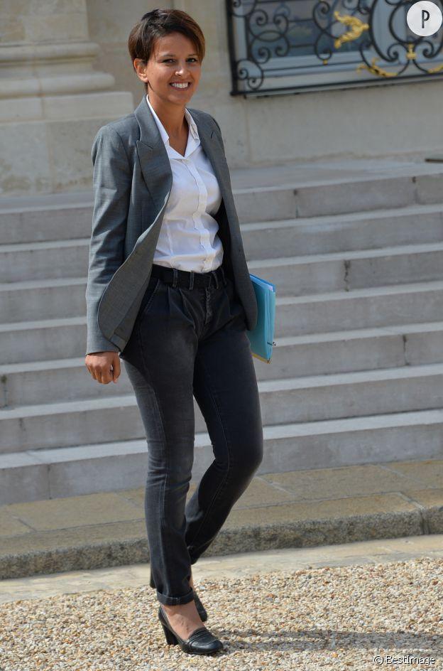 Najat Vallaud-Belkacem, la ministre des Droits des femmes, de la ville, de la jeunesse et des sports.