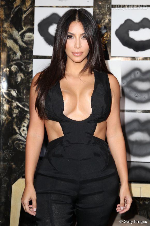 Kim Kardashian lors de la soirée de Violet Grey & Cassandra Huysentruyt Grey à Los Angeles le 20 août 2014.