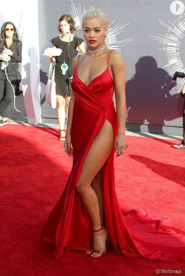 Rita Ora parfaite aux MTV Video Music Awards 2014.