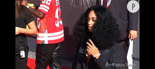 Solange Knowles aux MTV VMA 2014.