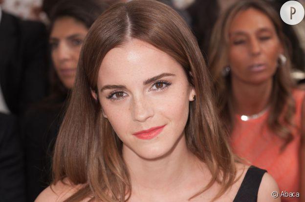 Emma Watson, à l'instar de son rôle d'Hermione dans la saga, était très studieuse.