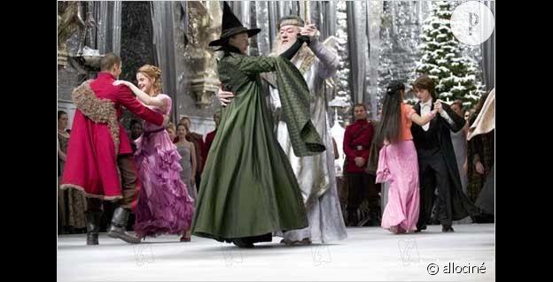 """Le Bal de Noël dans """"Harry potter et la coupe de feu""""."""
