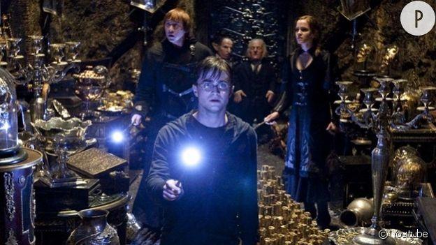"""""""Harry Potter et les reliques de la mort""""."""
